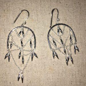 Stella & Dot dream catcher earrings.